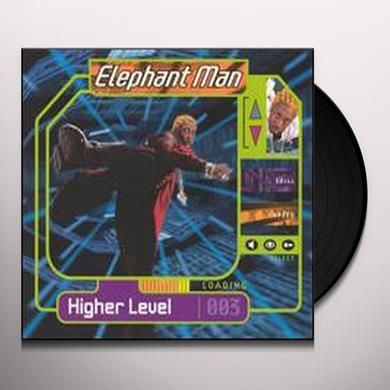 Elephant Man HIGHER LEVEL Vinyl Record