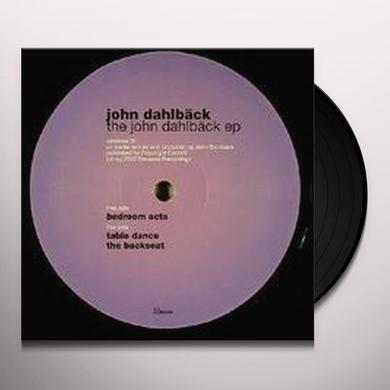 John Dahlbäck JOHN DAHLBACK EP (EP) Vinyl Record