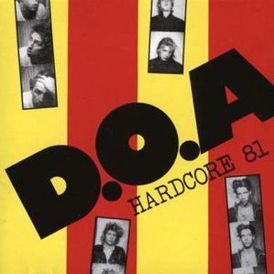 Doa HARDCORE 81 Vinyl Record