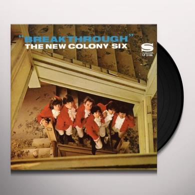 New Colony Six BREAKTHROUGH Vinyl Record