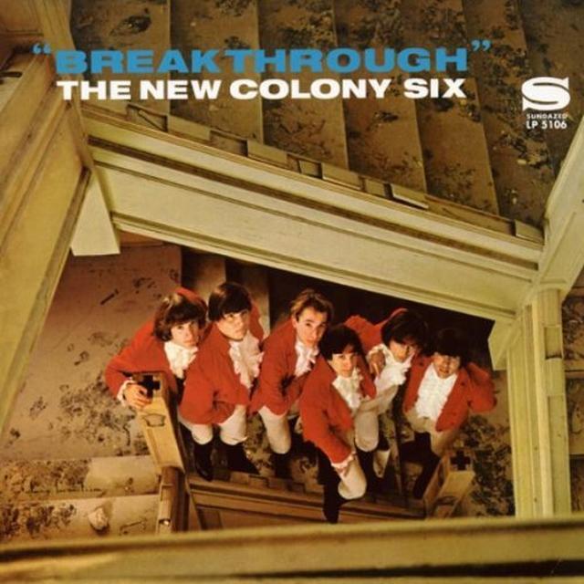 New Colony Six BREAKTHROUGH Vinyl Record