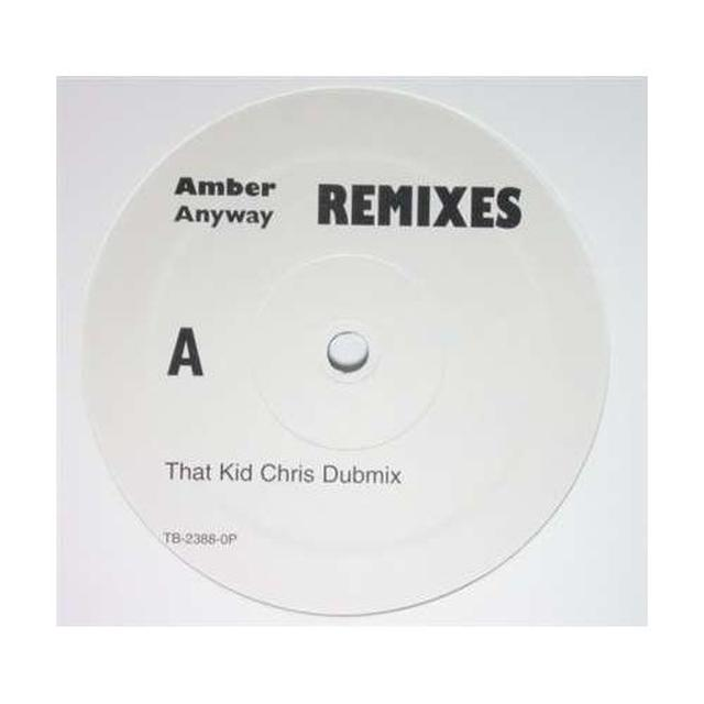 Amber ANYWAY Vinyl Record - Remixes
