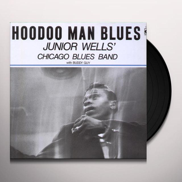 Junior Wells HOODOO MAN BLUES Vinyl Record - Reissue