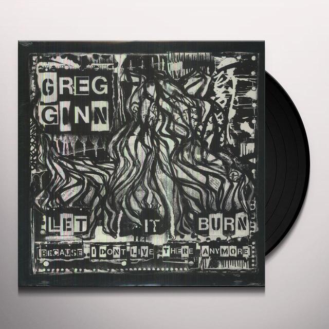 Greg Ginn LET IT BURN Vinyl Record
