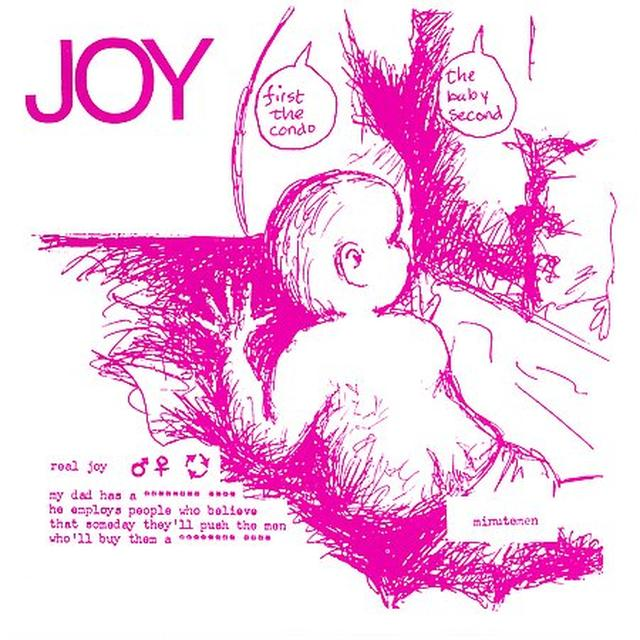 Minutemen JOY Vinyl Record