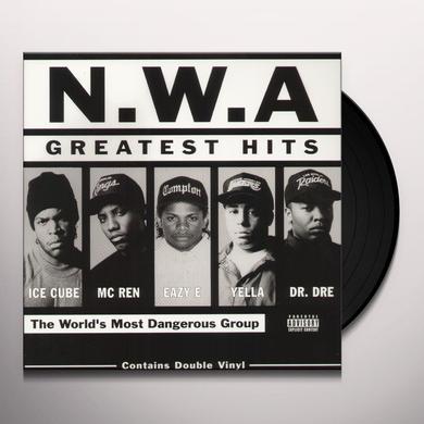 N.W.A. GREATEST HITS (BONUS TRACK) Vinyl Record - Remastered
