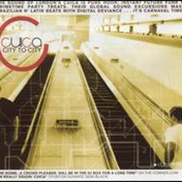 Cuica CITY TO CITY Vinyl Record
