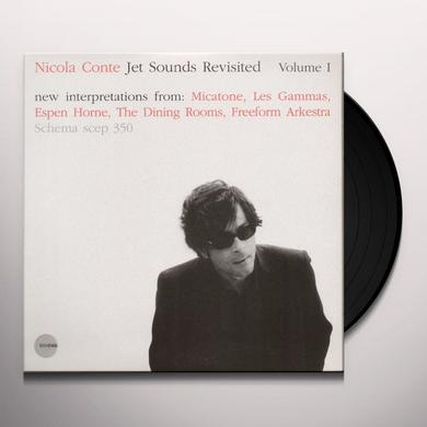 Nicola Conte JET SOUNDS REVISTED 1 Vinyl Record