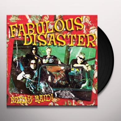 Fabulous Disaster PANTY RAID Vinyl Record