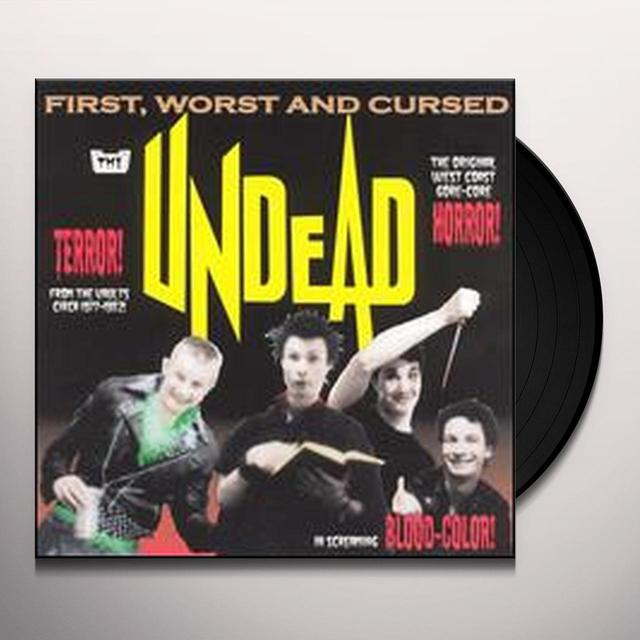 Undead FIRST WORST & CURSED Vinyl Record