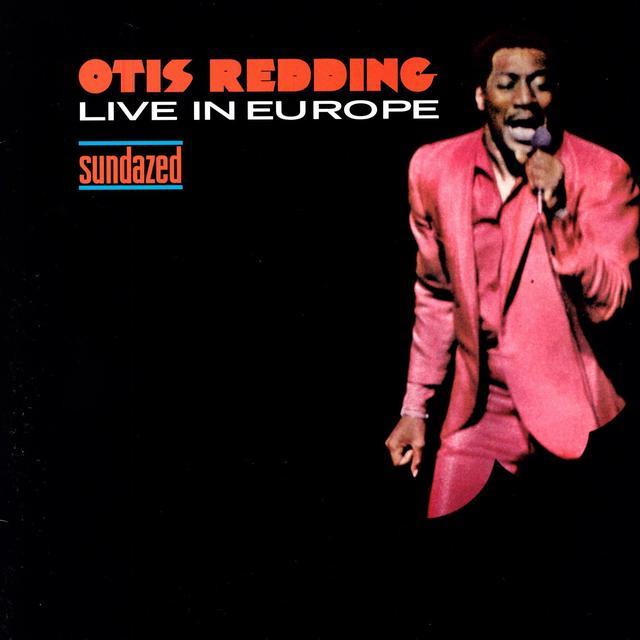 Otis Redding LIVE IN EUROPE Vinyl Record