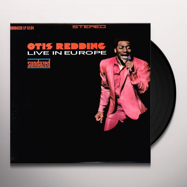 Otis Redding LIVE IN EUROPE Vinyl Record