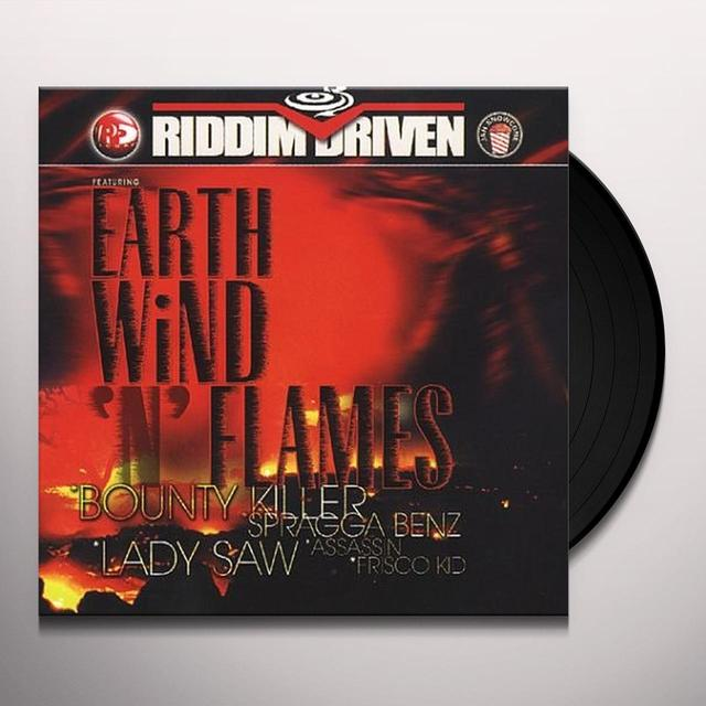 RIDDIM DRIVEN: EARTH WIND N' FLAMES / VARIOUS Vinyl Record