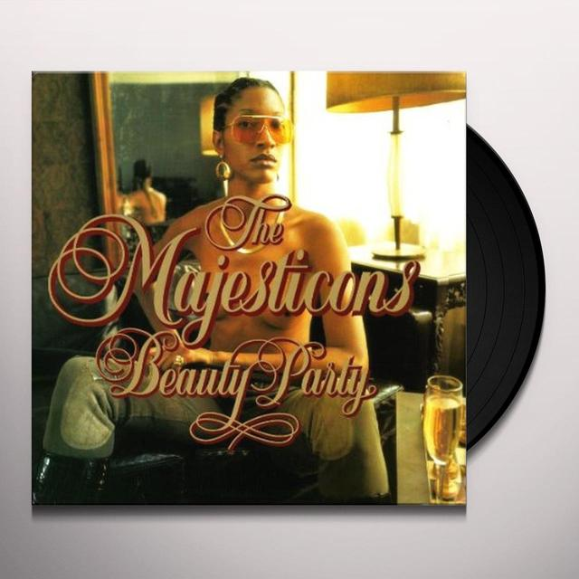 The Majesticons BEAUTY PARTY Vinyl Record
