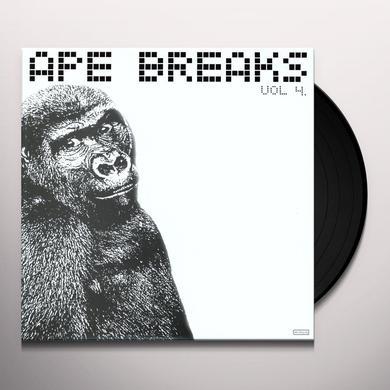 APE BREAKS 4 / VARIOUS Vinyl Record