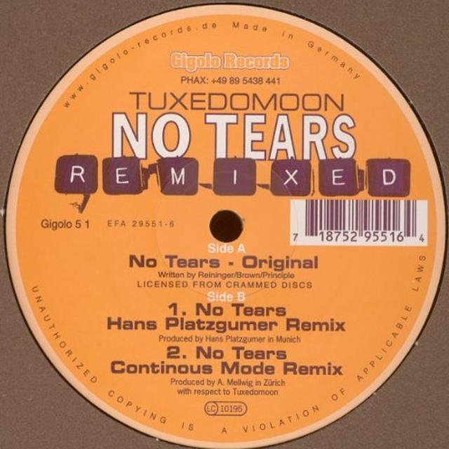 Tuxedomoon NO TEARS REMIXED Vinyl Record