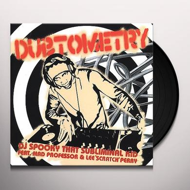 Dj Spooky DUBTOMETRY Vinyl Record - Limited Edition