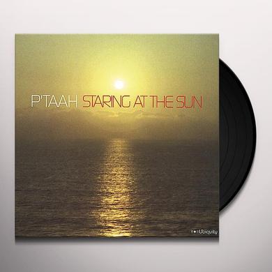 P'Taah STARING AT THE SUN Vinyl Record