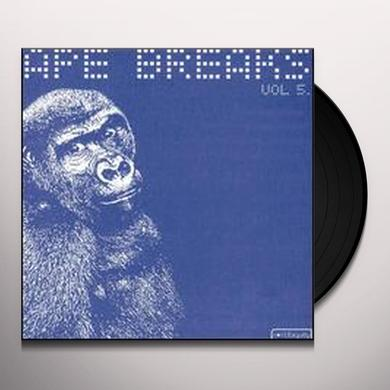 Ape Breaks VOLUME 5 Vinyl Record