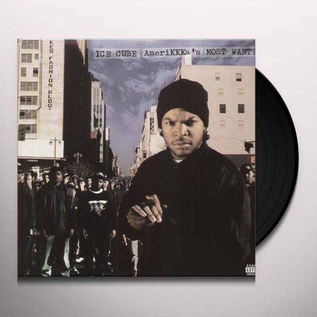 Ice Cube AMERIKKKAS MOST WANTED (BONUS TRACKS) Vinyl Record - Remastered