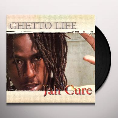 Jah Cure GHETTO LIFE Vinyl Record