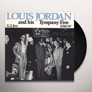 Louis Jordan G.I. JIVE 1940-47 Vinyl Record - Mono