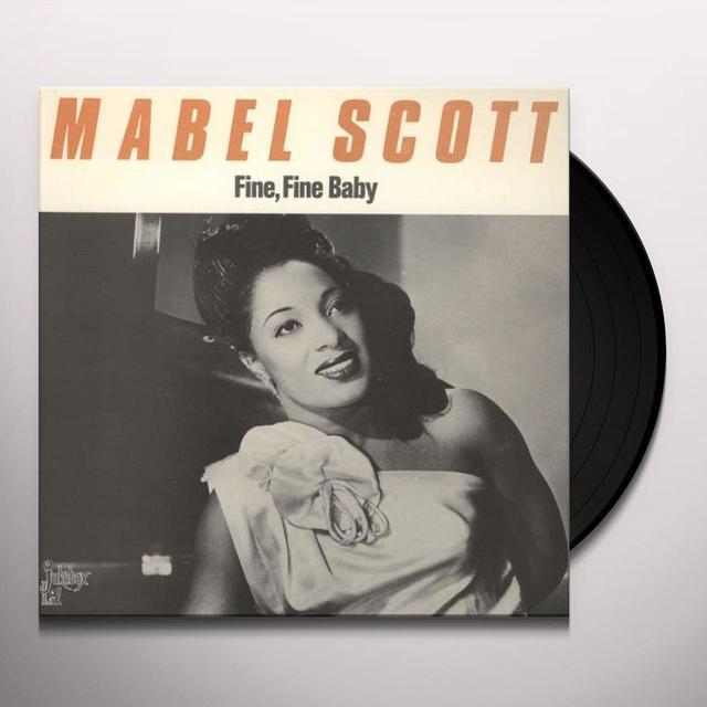 Mabel Scott FINE FINE BABY Vinyl Record