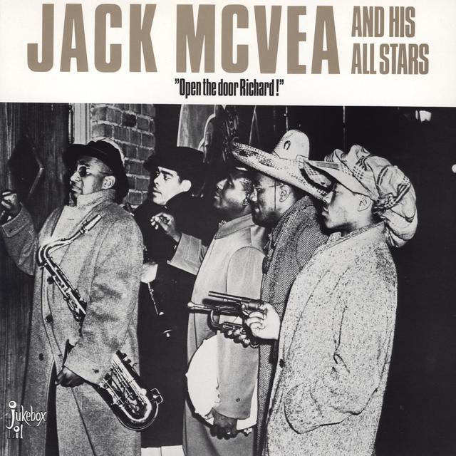 Jack Mcvea OPEN THE DOOR RICHARD Vinyl Record