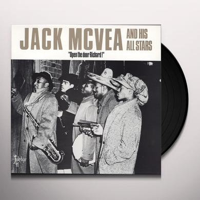 Jack Mcvea OPEN THE DOOR RICHARD Vinyl Record