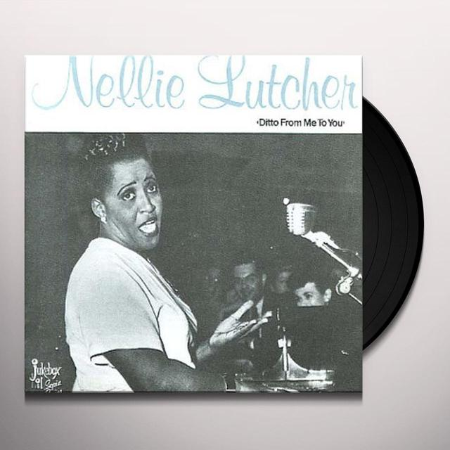 Nellie Lutcher DITTO FROM ME TO YOU Vinyl Record