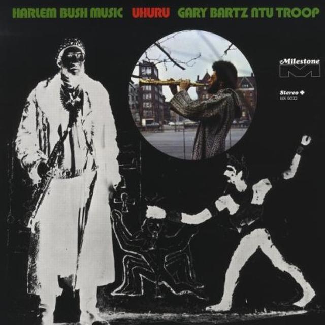 Gary Bartz & Ntu Troop HARLEM BUSH MUSIC UHURU Vinyl Record - UK Import