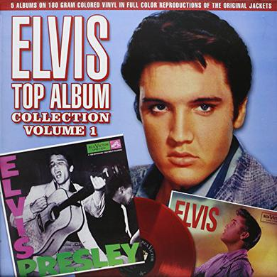Elvis Presley TOP ALBUM COLLECTION 1 Vinyl Record