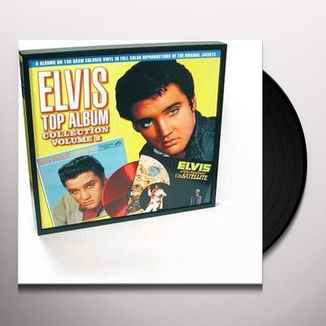 Elvis Presley TOP ALBUM COLLECTION 2 Vinyl Record