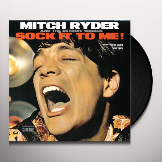 Mitch Ryder SOCK IT TO ME Vinyl Record
