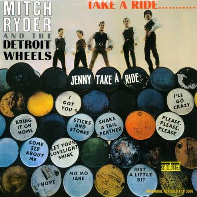 Mitch Ryder TAKE A RIDE Vinyl Record