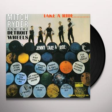 Mitch Ryder TAKE A RIDE Vinyl Record