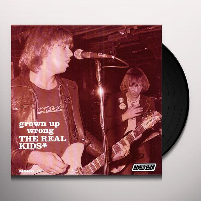 The Real Kids GROWN UP WRONG Vinyl Record