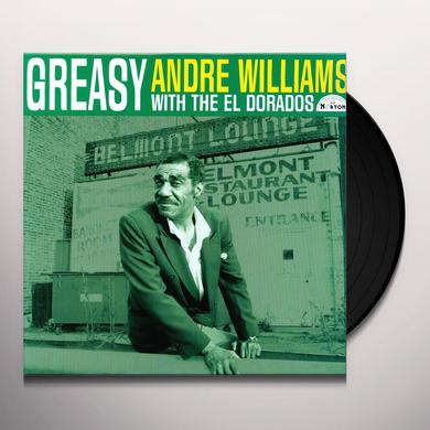 Andre Williams GREASY Vinyl Record