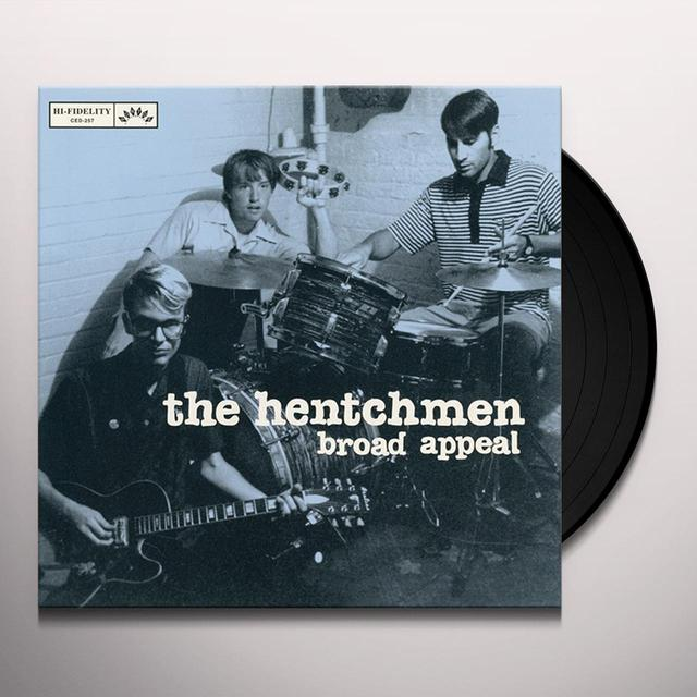 The Hentchmen BROAD APPEAL Vinyl Record
