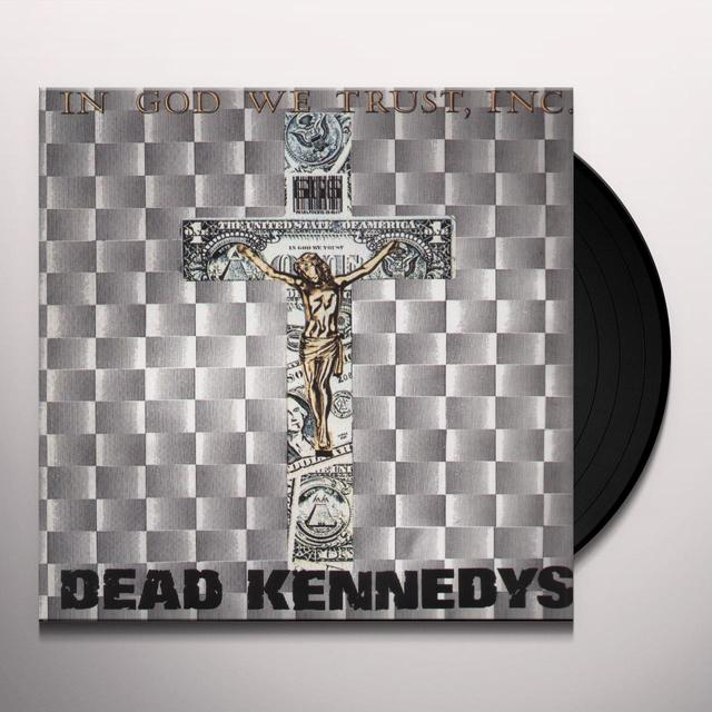Dead Kennedys IN GOD WE TRUST Vinyl Record