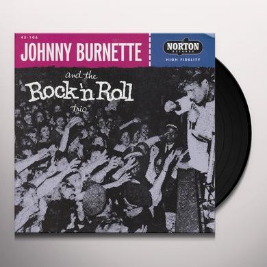 Johnny Burnette TEAR IT UP / OH BABY BABE Vinyl Record