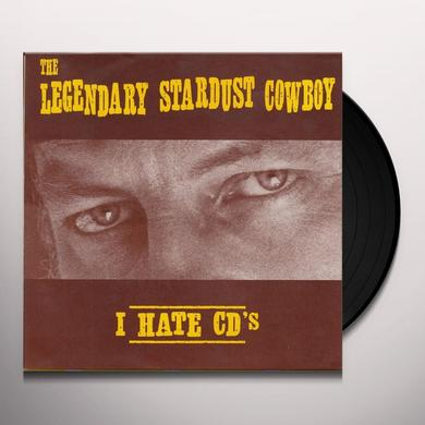 Legendary Stardust Cowboy I HATE CD'S / LINDA Vinyl Record