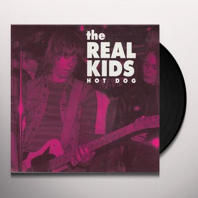 The Real Kids HOT DOG / JUST LIKE DARTS Vinyl Record