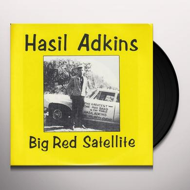 Hasil Adkins BIG RED SATELLITE / ELLEN MARIE Vinyl Record