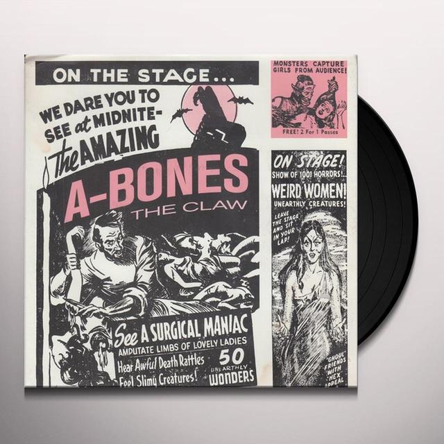 A-Bones CLAW / SPOOKS A POPPIN Vinyl Record