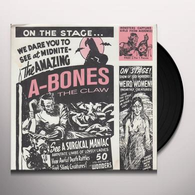 A-Bones CLAW / SPOOKS A POPPIN Vinyl Record