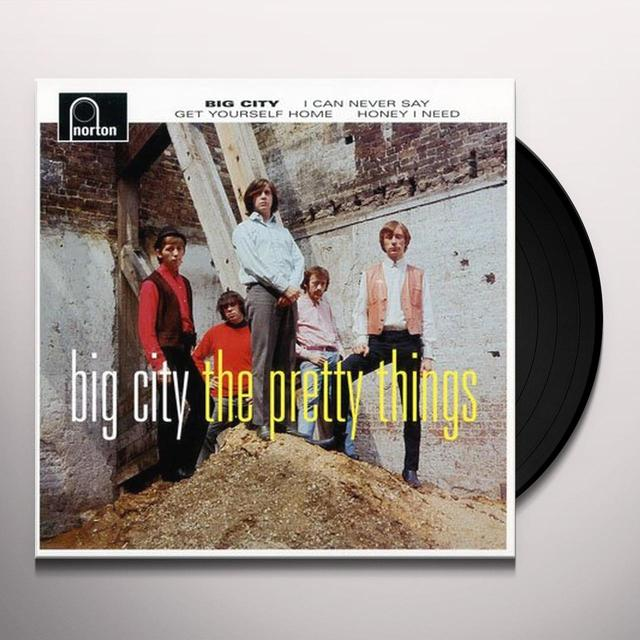 The Pretty Things BIG CITY Vinyl Record