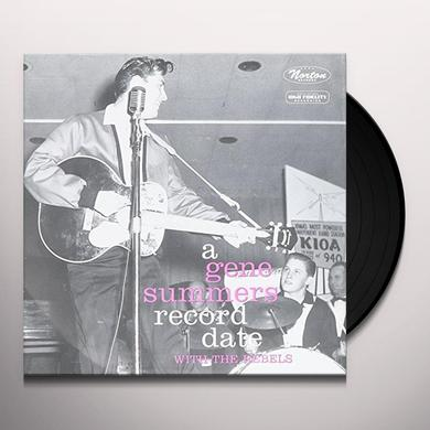 Gene Summers & The Rebels RECORDS DATE Vinyl Record