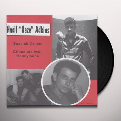 Hasil Adkins SEASICK CRUISE / CHOCOLATE MILK HONEYMOON Vinyl Record