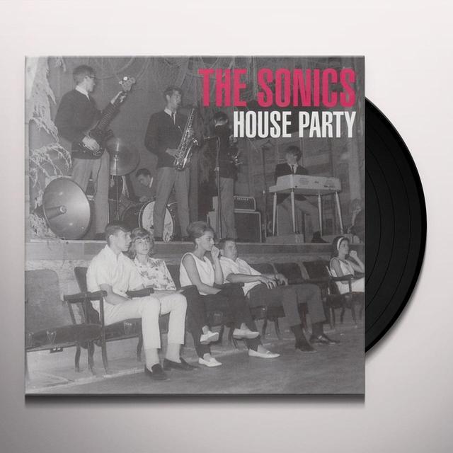 Sonics HOUSE PARTY Vinyl Record